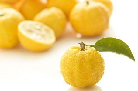 柚子肌模様