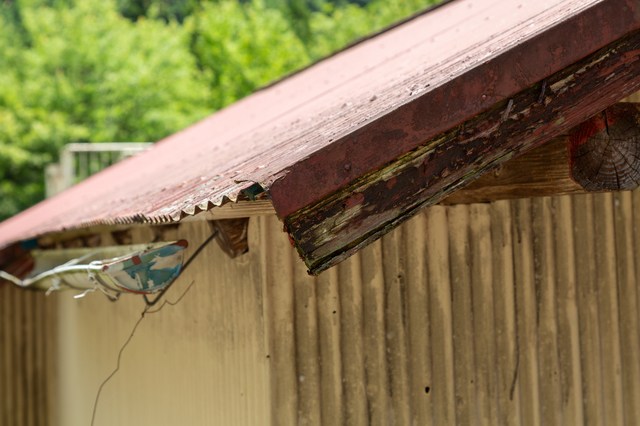 トタン屋根を塗り替える時期