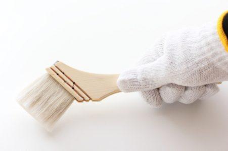 塗装に使う刷毛
