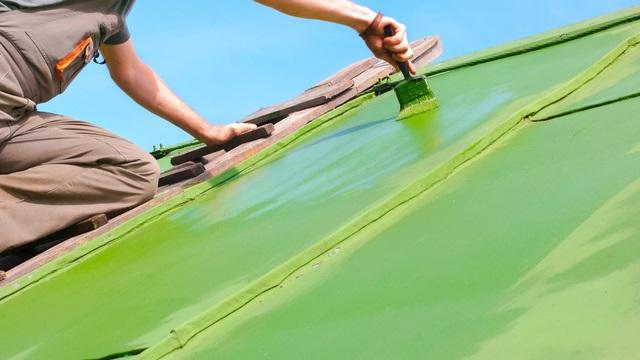 屋根塗装DIY