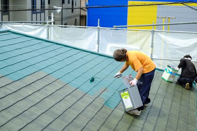 屋根塗装に足場は必要か