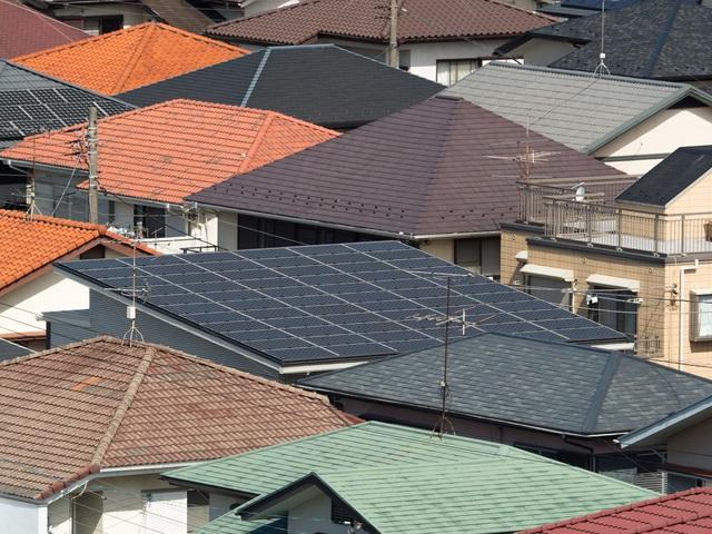 たくさんの屋根