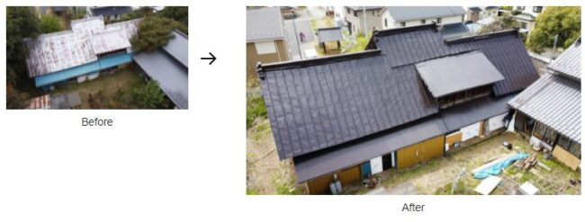 西山建材工業の施工事例
