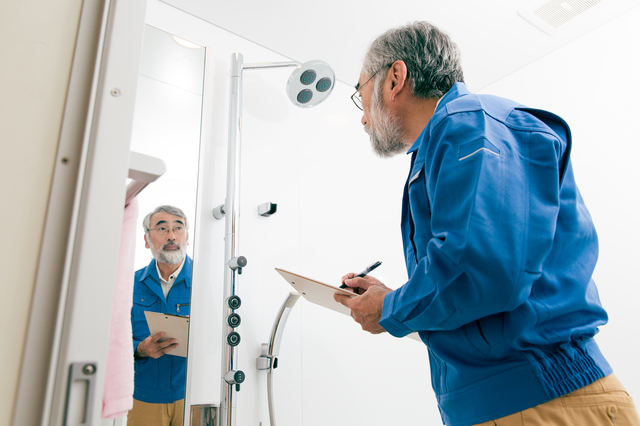 シャワールームの施工例
