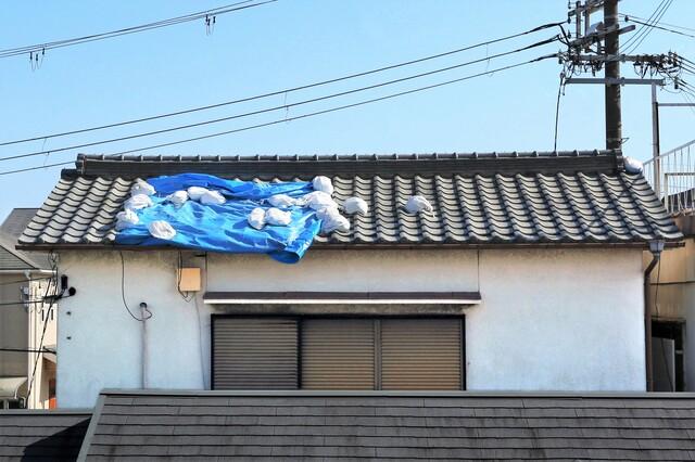 台風被害の様子